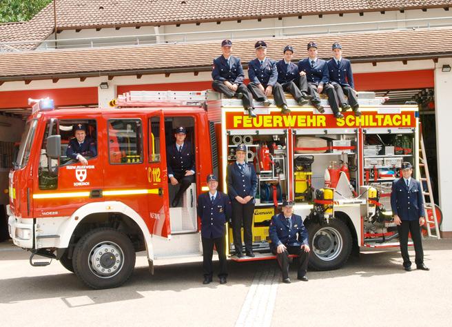 Gruppenbilder und Vereinsaufnahmen (Auftrag: Freiwillige Feuerwehr Schiltach)
